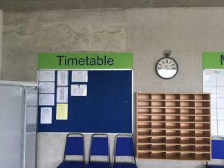 Frameless-Noticeboards-Staffroom-Words