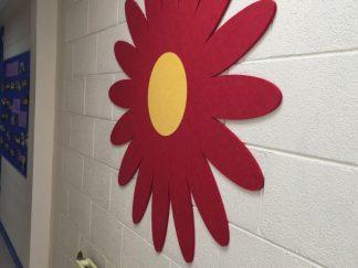 Shaped-Noticeboard-Flower