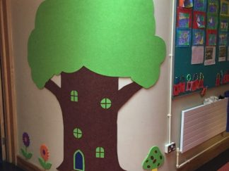 Shaped-Noticeboard-tree-curved
