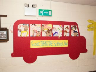 Shaped-Noticeboards-Bus