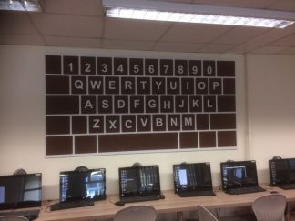 Shaped-Noticeboards-Keyboard