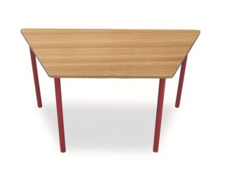 Trapezoidal-Table-Red